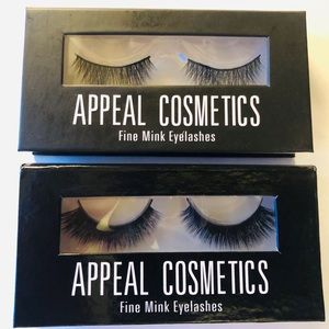 Two sets of Fine Mink Eyelashes by Appeal Cosmetic